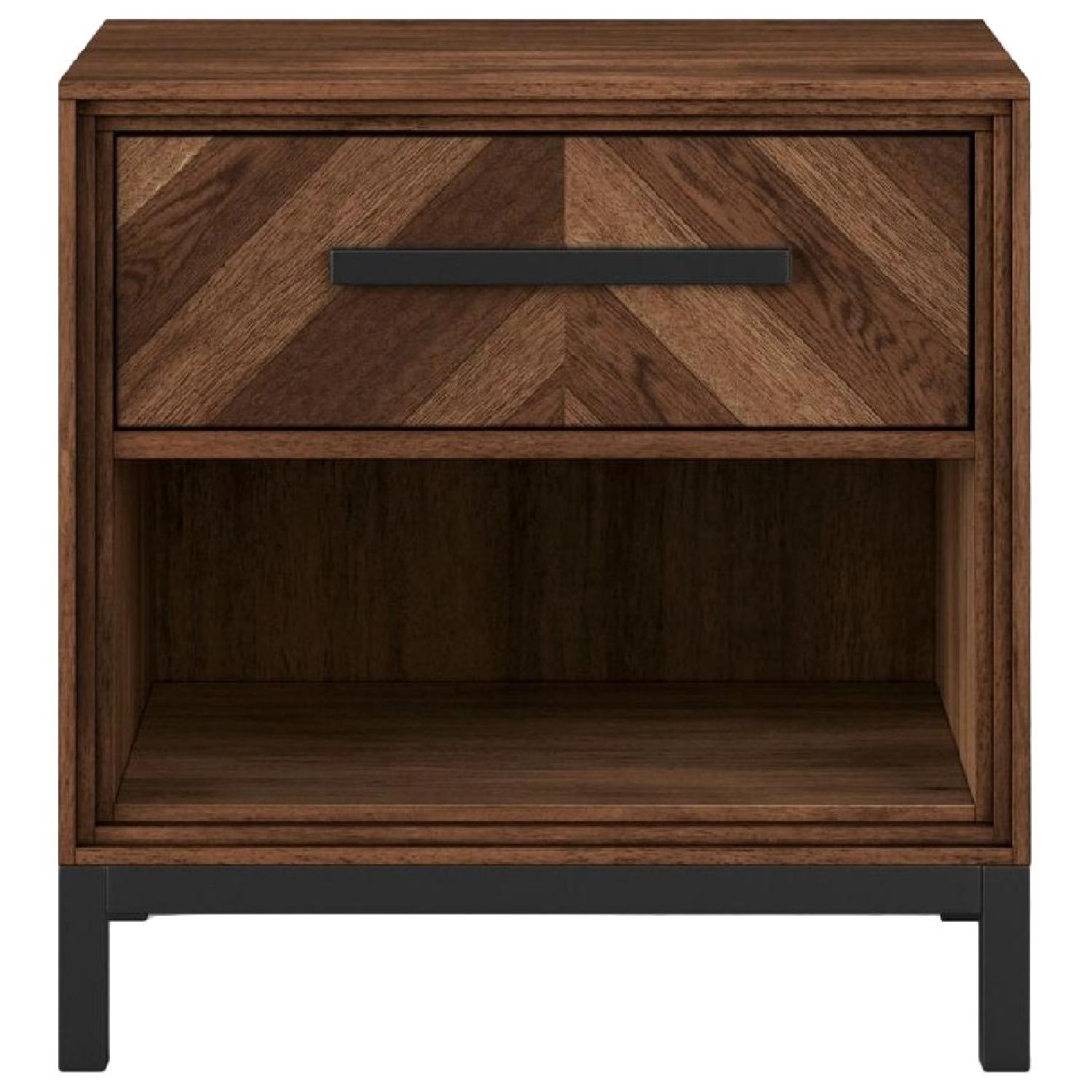 Targer Project 62 Parquet Nightstand