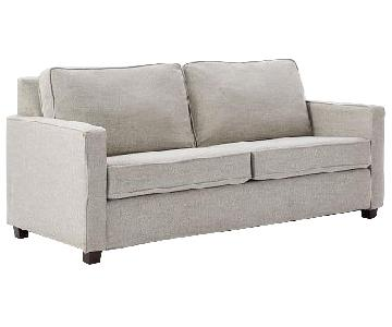 West Elm Dove Grey Henry Sofa