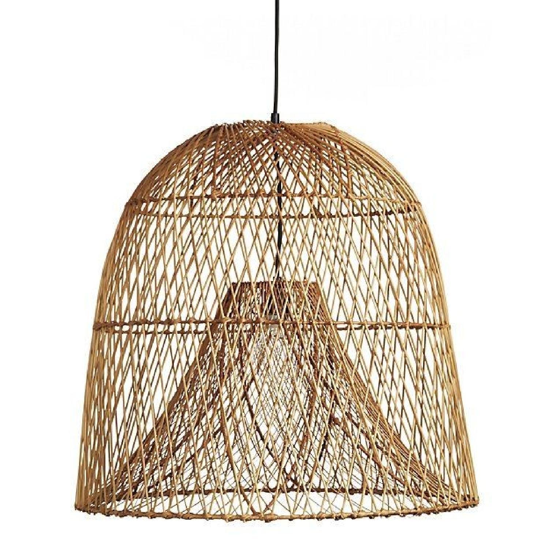 CB2 Nassa Basket Pendant Light