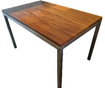 Room & Board Parsons Desk in Walnut