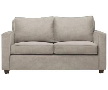 West Elm Dove Gray Loveseat