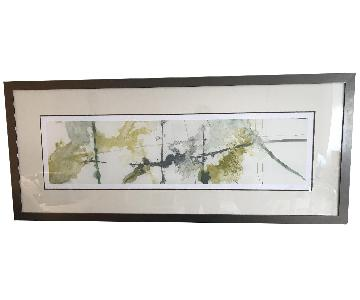 Crate & Barrel Abstract Framed Print