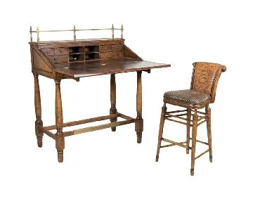 Thomasville Ernest Hemingway Standing Desk & Chair