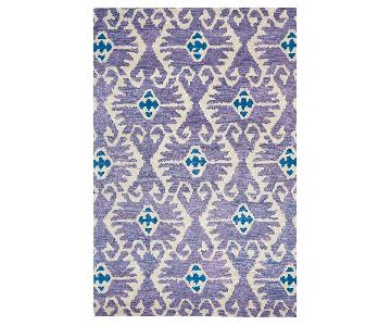 Safavieh Wyndham Lavender/Ivory Ikat Rug