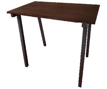 Wood & Metal Industrial Pub Table