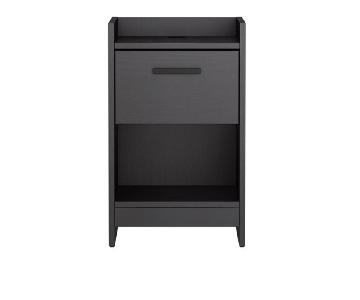 Homestar Central Park 1 Drawer Nightstand