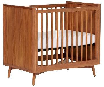 West Elm Mid Century Mini Crib