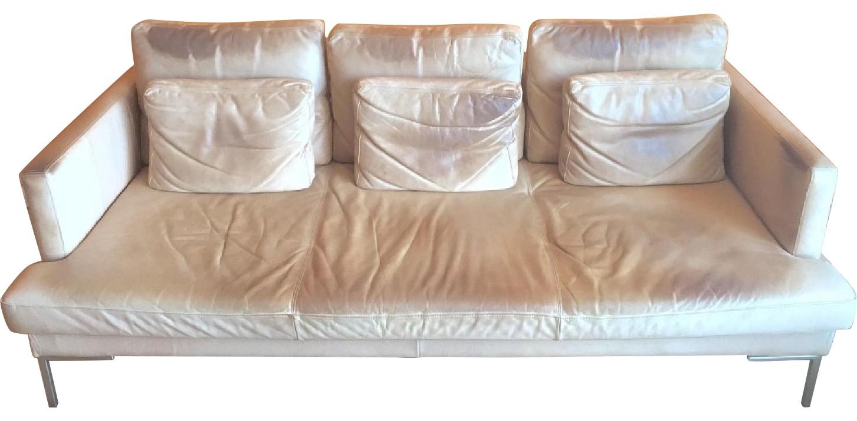 BoConcept 3 Seater Sofa in Ferrari Leather