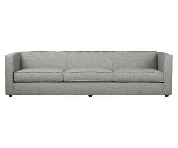 CB2 Club 3-Seater Sofa in Grey
