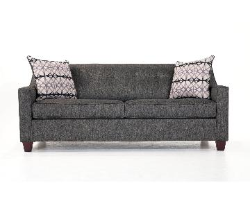 Bob's Caleb Bob-o-Pedic Queen Size Sleeper Sofa