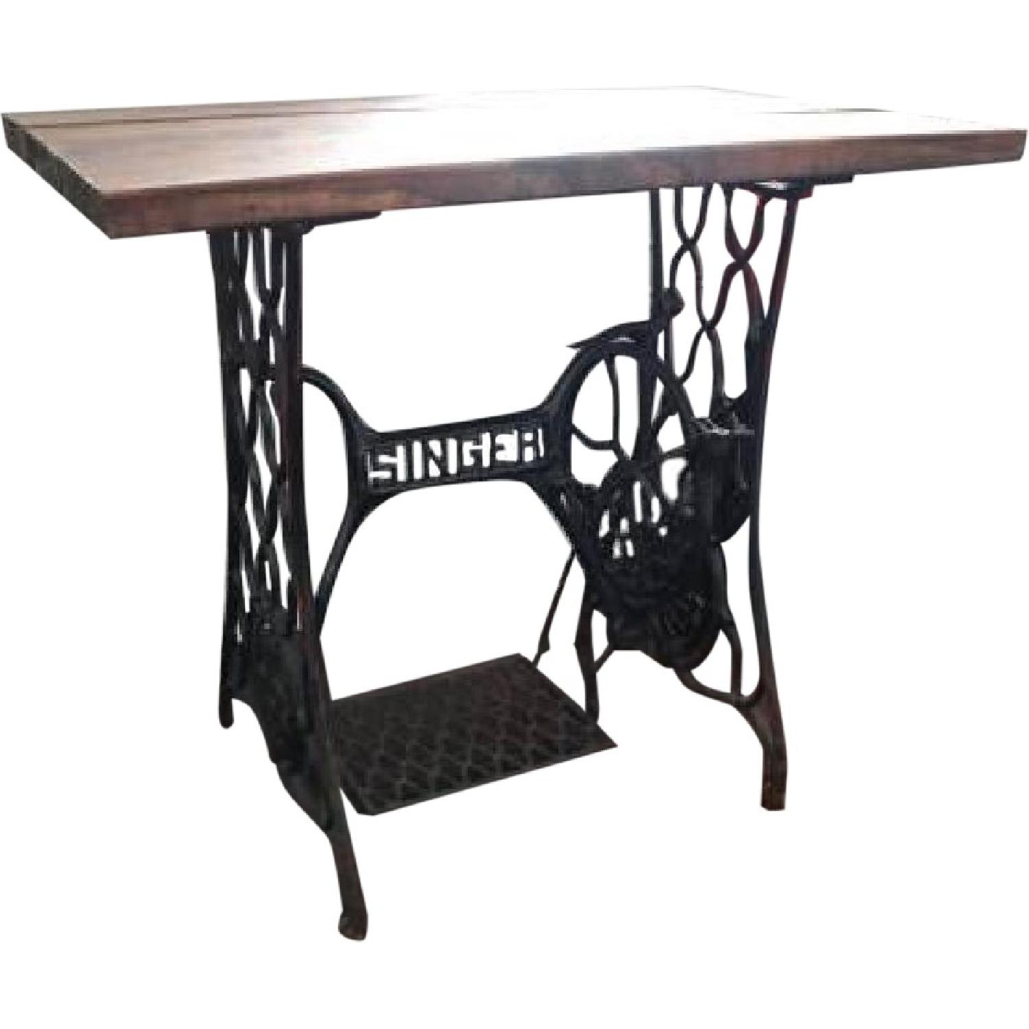 Antique Singer Sewing Machine Table/Desk