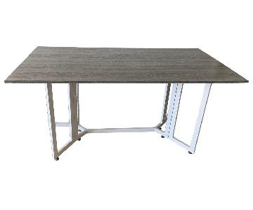 Macy's Drop-Leaf Dining Table
