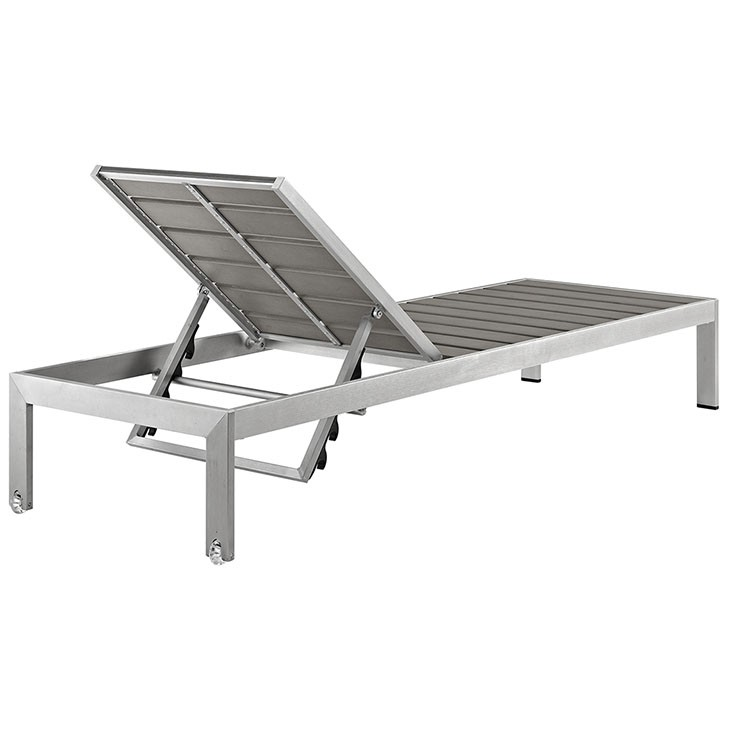Modway Outdoor Patio Aluminum Chaise