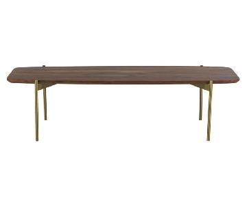 CB2 Adam Wood Coffee Table