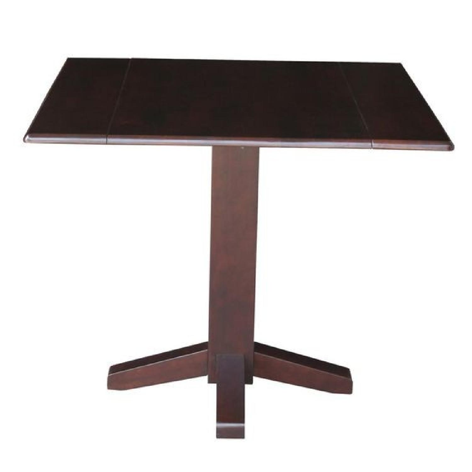 Latitude Run Runkle Square Dual Drop Leaf Dining Table