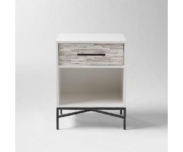 West Elm Tiled Nightstand