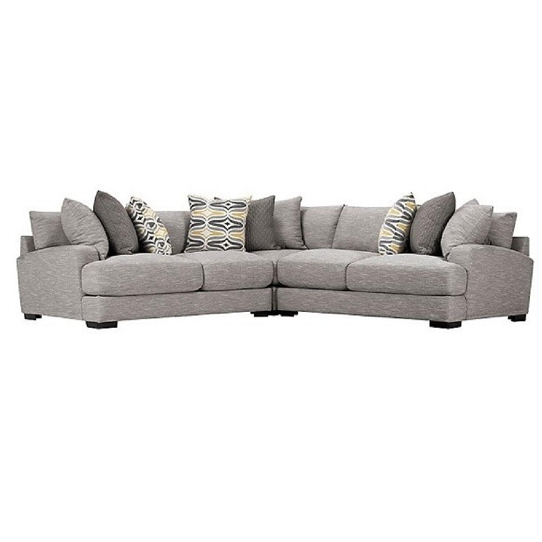 Raymour & Flanigan Leighton 3-Piece Sectional Sofa