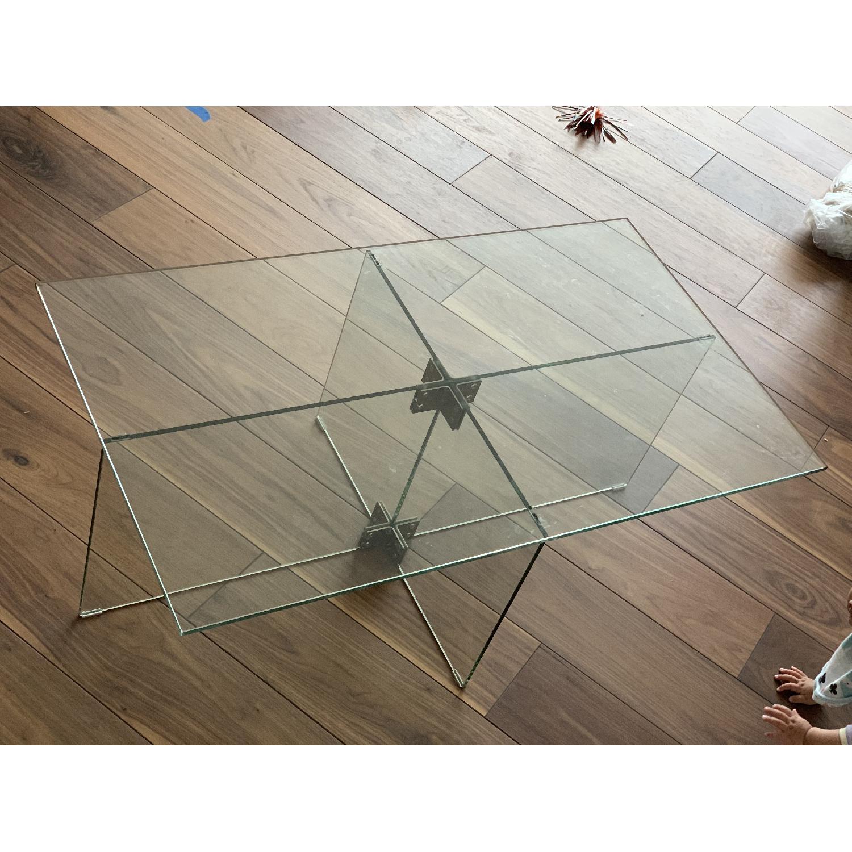 West Elm Cosima Glass Coffee Table
