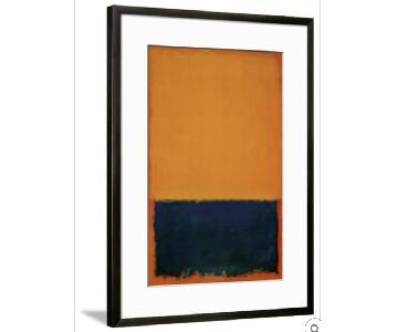 Framed Mark Rothko Art Print