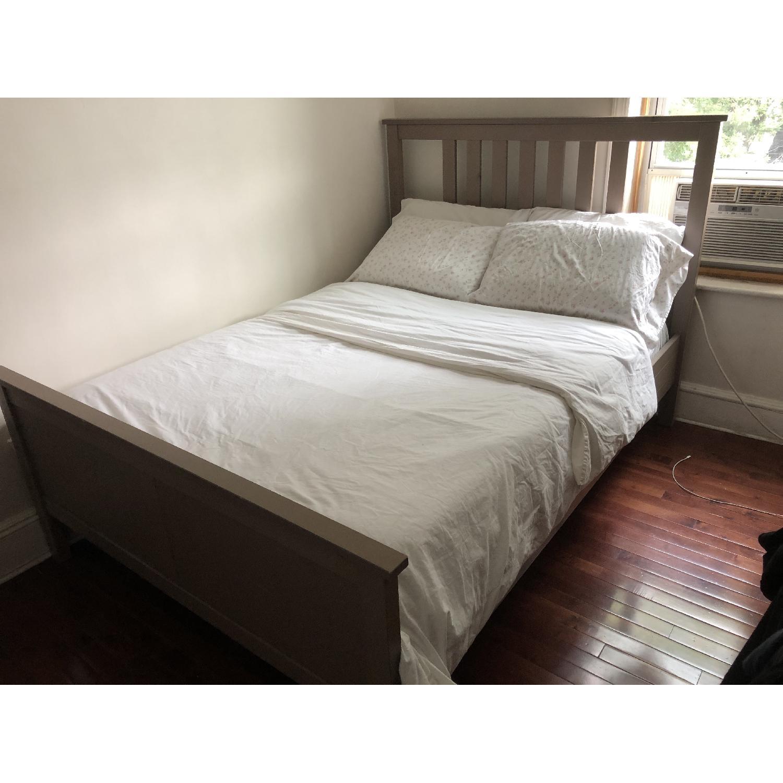 Ikea Hemnes Full Bed Frame in Grey
