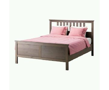 Ikea Hemnes Full Bed Frame in Grey