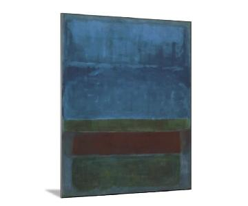 Mark Rothko Wood Mount Print