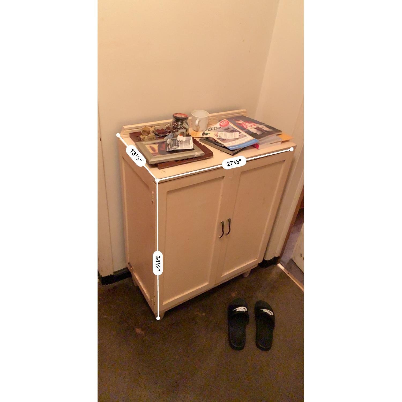Off-White Storage Cabinet