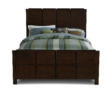 American Signature Furniture Wood Queen Bed Frame