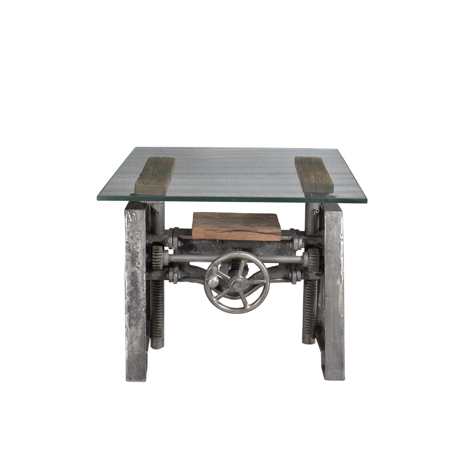 Designe Gallerie A-End Table w/ Glass-Top