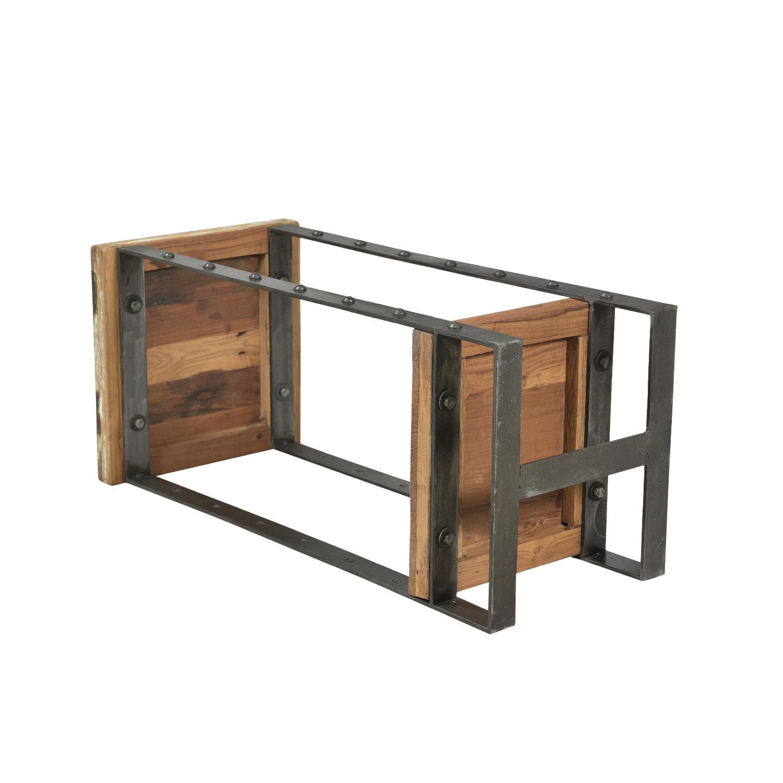 Designe Gallerie Telfer Metal Wood Side Table