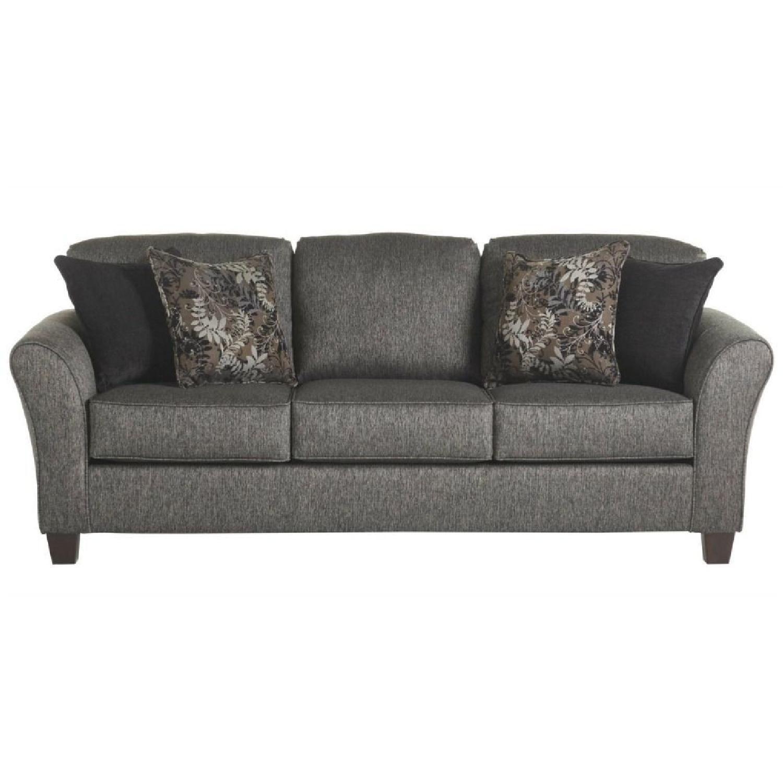 Serta Upholstery Westbrook Sofa in Gray