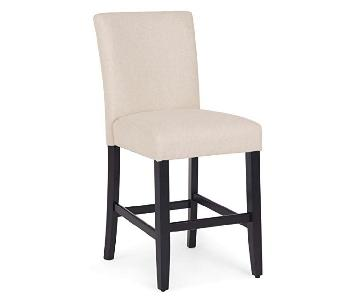Counter Height Dining Chairs w/ Solid Wood Legs