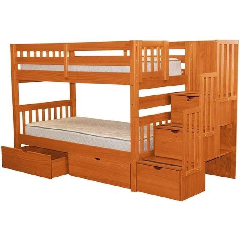 Ashley Loft Bunk Bed W Storage Stairs Aptdeco