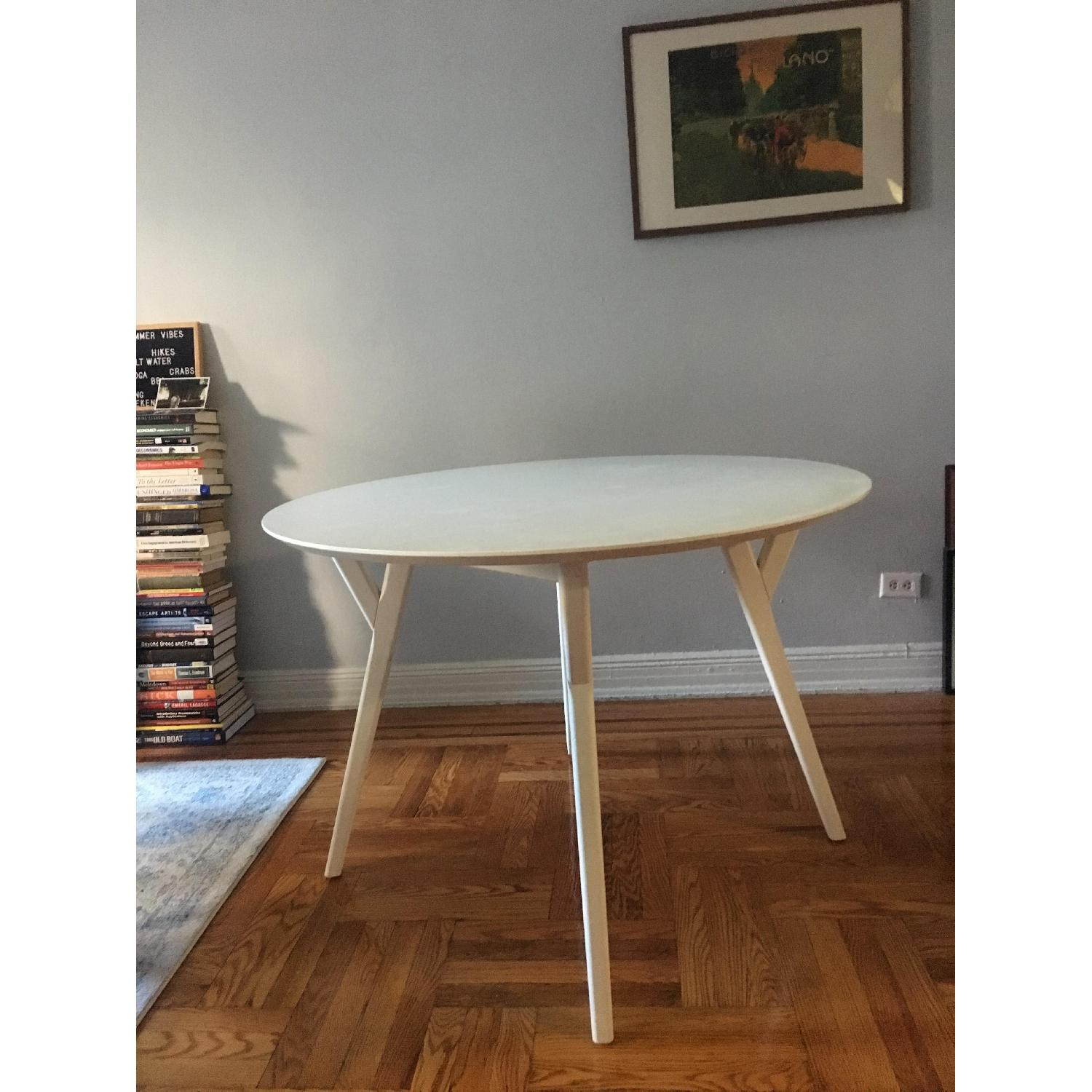 West Elm Mid-Century Round Dining Table