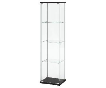 Ikea Detolf Glass-Door Display Cabinet
