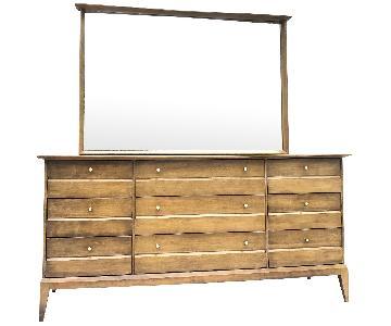 Heywood Wakefield Mid-Century Cadence Dresser w/ Mirror