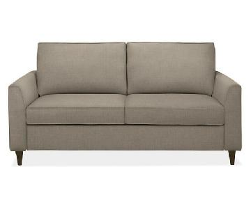 Room & Board Trenton Day & Night Queen Sleeper Sofa in Putty