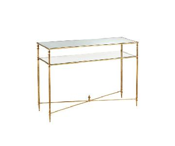 Horchow Barstow Entryway Console