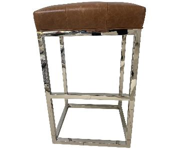 Mitchell Gold + Bob Williams Ginger Leather Bar Stool