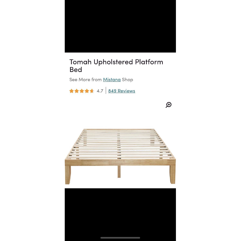 Mistana Tomah Full Size Upholstered Platform Bed