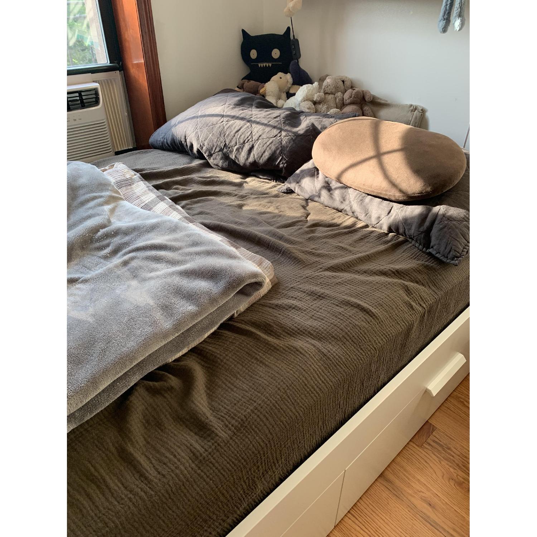 Ikea Brimnes Full Size Bed Frame w/ Storage