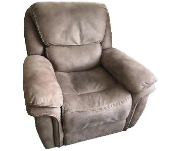 Recliner Chair in Brown