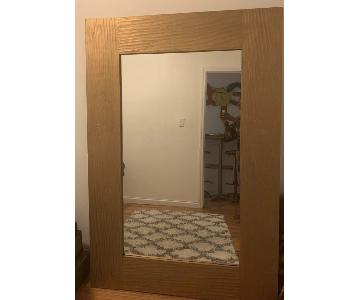 Golden Framed Mirror