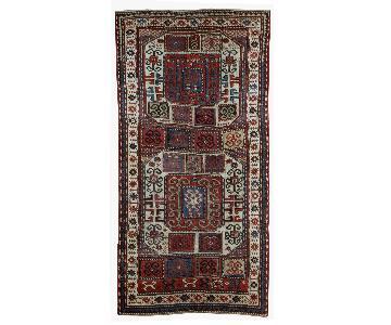 Antique Handmade Caucasian Karabagh Rug
