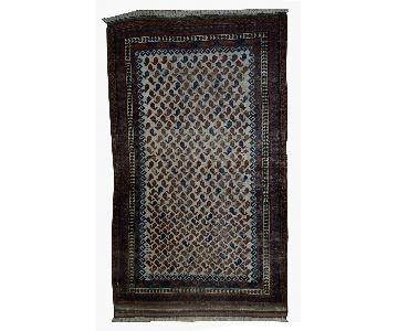 Antique Handmade Afghan Baluch Rug