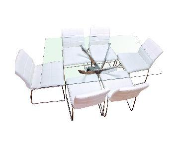 Wade Logan 7-Piece Modern Dining Set