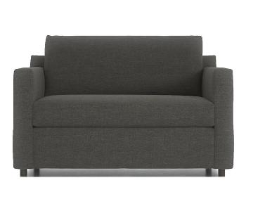 Crate & Barrel Twin Sleeper Sofa