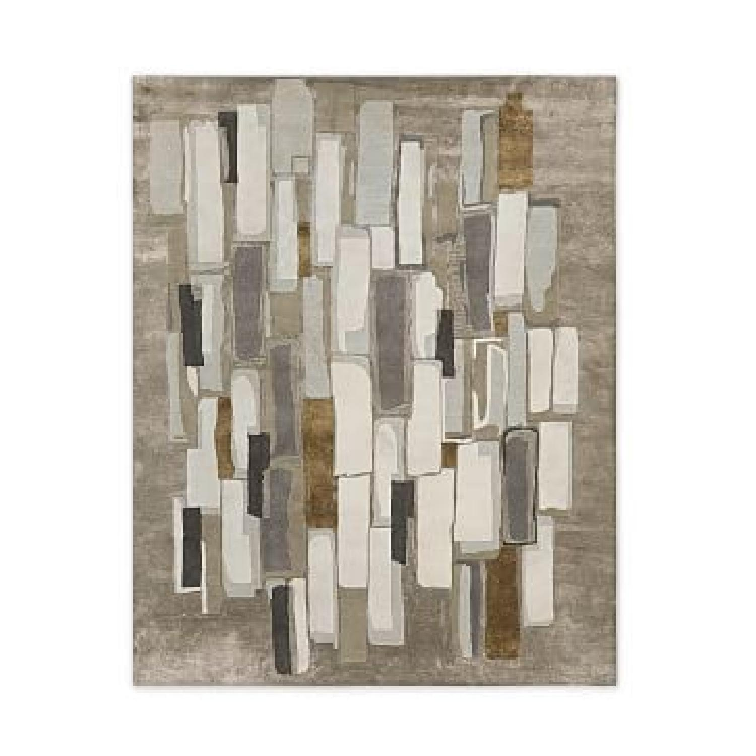 West Elm Alabaster Tile Wool Rug