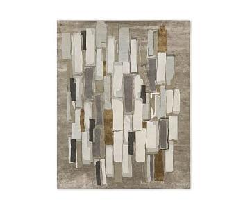 West Elm Alabaster Tile Wool Rug