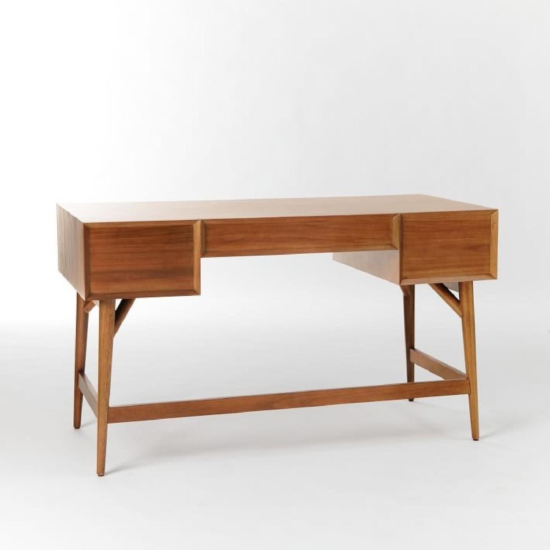 West Elm Mid Century Desk in Acorn